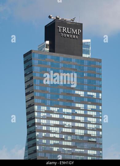 Trump Towers in Istanbul Stockbild