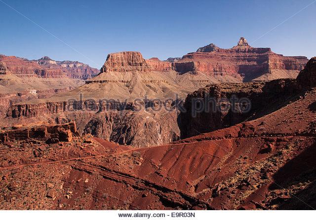 Klippen des Grand Canyon Stockbild