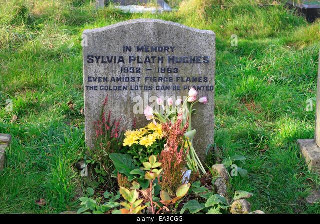 Briefe Nach Hause Sylvia Plath : Ted hughes stockfotos bilder alamy