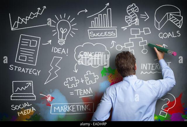 Kreative Unternehmen Stockbild