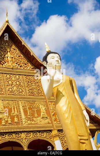 Pha, die Luang Stockbild