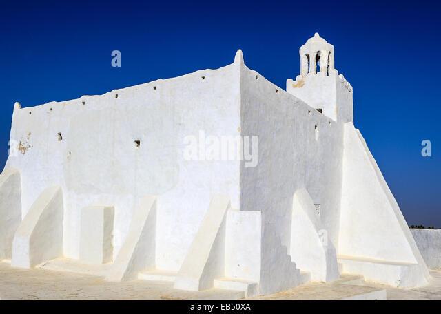 Südlich von Tunesien, Djerba, die alten Fadh Loon Moschee - Stock-Bilder