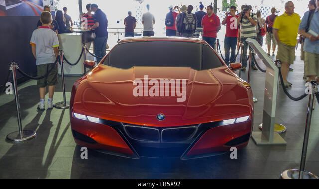 BMW-Sportwagen auf dem Goodwood Festival of Speed. Stockbild