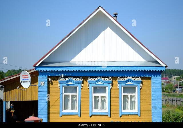 Russian house stockfotos russian house bilder alamy for Russisches haus