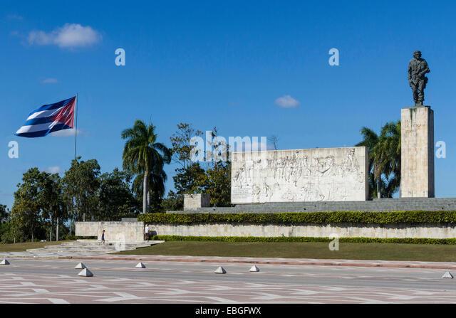 Santa Clara, Kuba Che Guevara mausoleum Stockbild