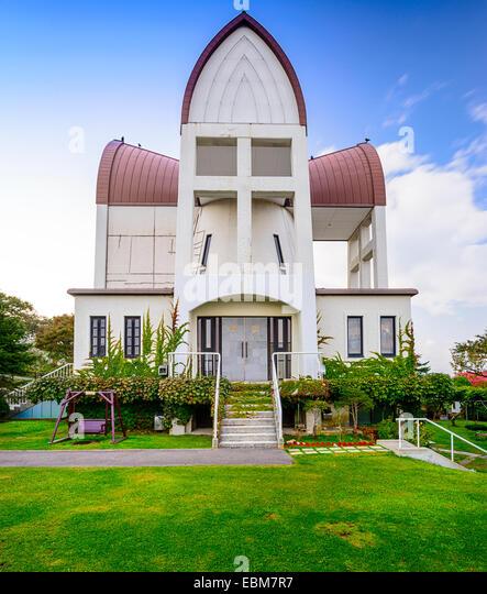 Hakodate, Hokkaido, Japan historischen St.-Johannes Kirche. Stockbild