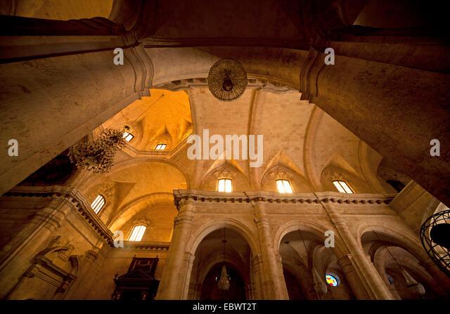 Die Kathedrale von San Cristobal, Havanna, Kuba Stockbild