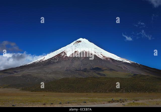 Vulkan Cotopaxi, Ecuador Stockbild