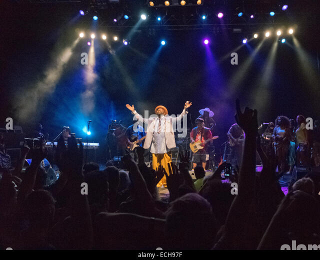 George Clinton die live in London UK Stockbild