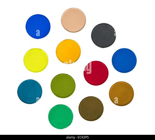 Aquarellfarben Stockbild