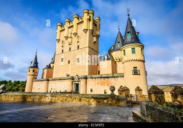 Segovia, Spanien im Alcazar. - Stock-Bilder