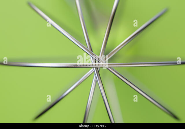 Kabel Schneebesen close-up Stockbild