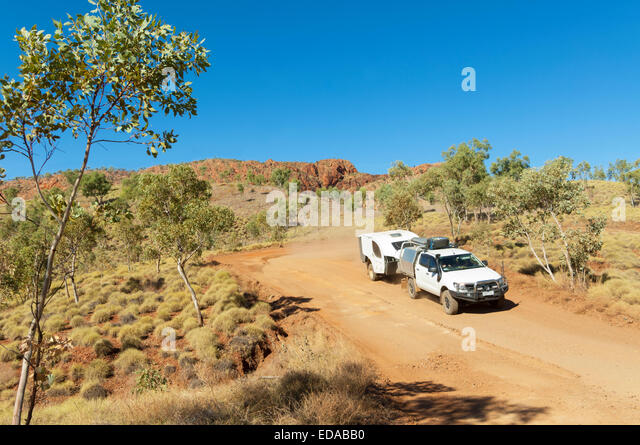 4 Rad Antrieb fahren, die Bungle Bungles (purnululu), Western Australia Stockbild