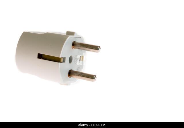 schuko plug stockfotos schuko plug bilder alamy. Black Bedroom Furniture Sets. Home Design Ideas