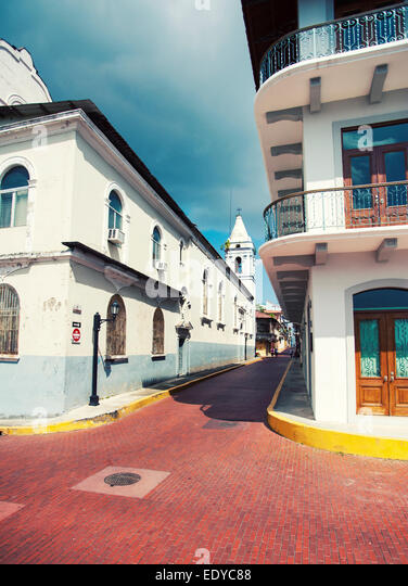 Casco Antiguo, Panama-Stadt Stockbild