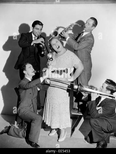 """Kate Smith, Portrait Werbung für den Film """"Hallo, alle!"""", 1933 Stockbild"""