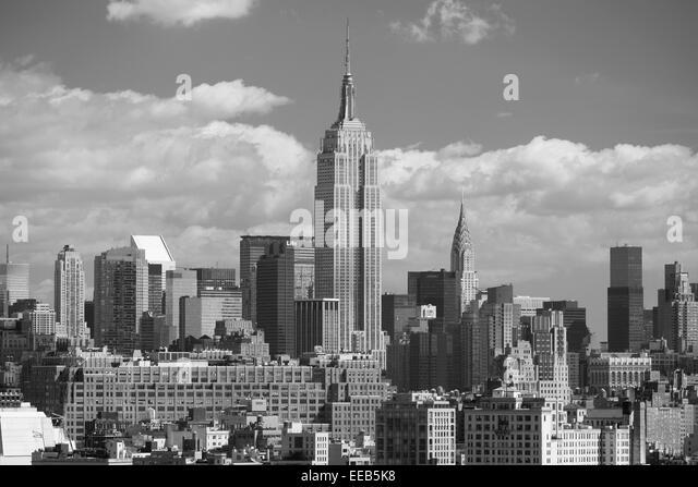 Empire State Building in Midtown, New York, USA Stockbild