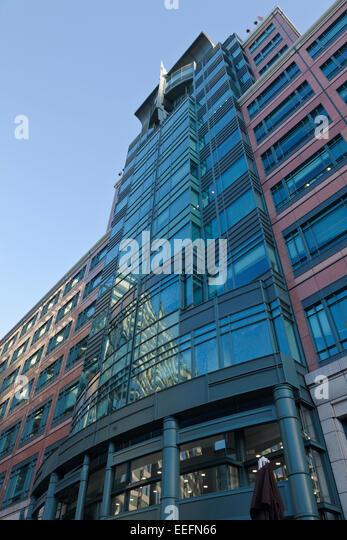 Europäische Bank für Wiederaufbau und Entwicklung, 1 Exchange Square in London Stockbild
