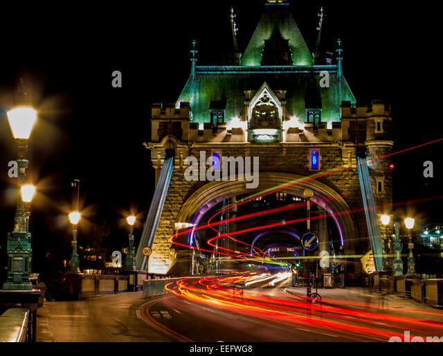 Tower Bridge-London Stockbild