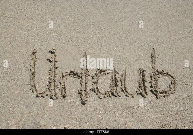 Strand Urlaub Stockbild