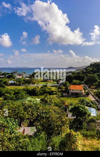 Caribian, Antillen, kleine Antillen, Grenadinen, Insel Bequia Stockbild