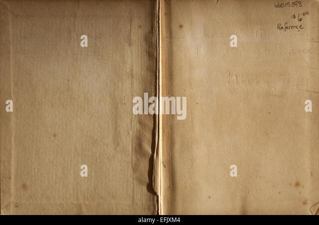 1800 s Antik Vintage Pergament Papier Tan Brown Hintergrund Stockbild