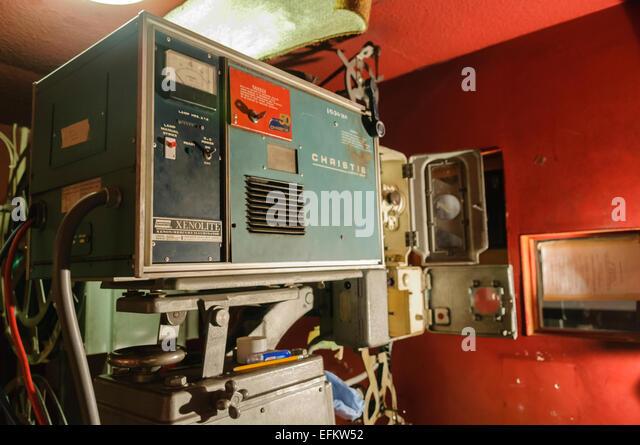 Eine alte Christie Xenolite 45mm Filmprojektor aus den 1950er Jahren. Stockbild