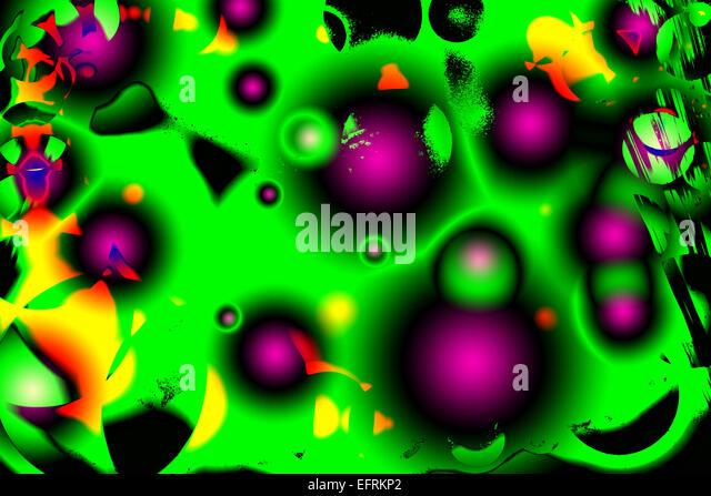 3D Bild 3D Bilder Check; überprüfen; Kreise, Farbbild, Farbbilder; Farbbild; Farbe Bilder, Prüfung, Stockbild