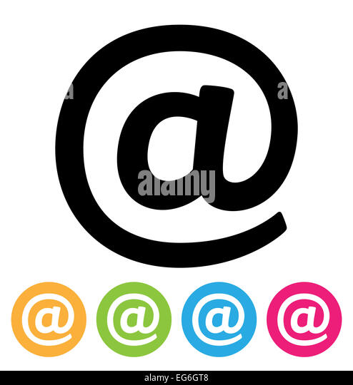 e-Mail-Symbol Stockbild