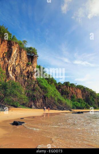 Brasilien, Fernando De Noronha, Fernando de Noronha Marine National Park, Sancho Bay Stockbild