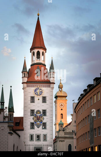 Bild des Spielzeugmuseums in München, Bayern, Deutschland Stockbild