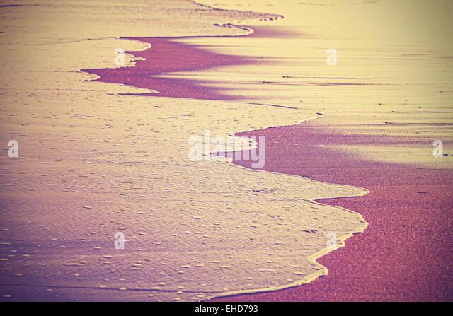 Jahrgang gefiltert abstrakt Hintergrund oder Textur, geringe Schärfentiefe. Stockbild