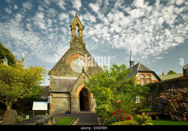 Kirche St. Augustine. Kirche von Irland (anglikanisch). Derry/Londonderry, Nordirland Stockbild