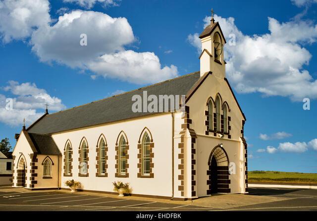 Rathlee Kirche. Rathlee, Irland Stockbild