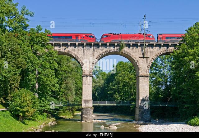 Viadukt-Viadukt Stockbild