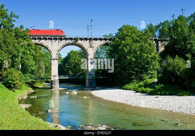 Viadukt / Viadukt Stockbild