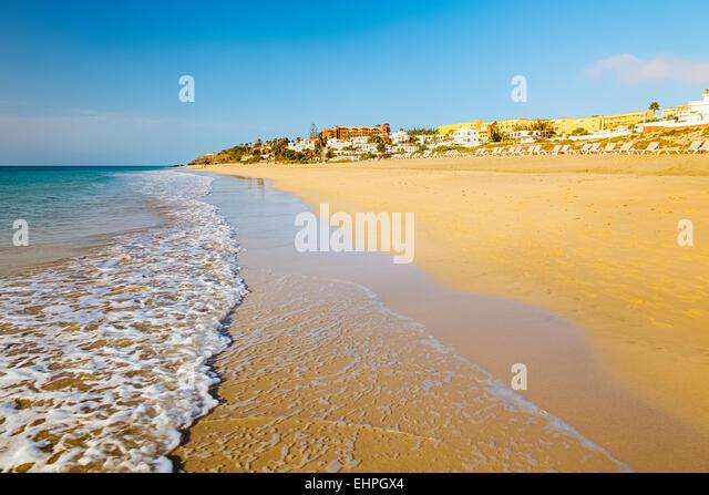 Schöner Strand Stockbild