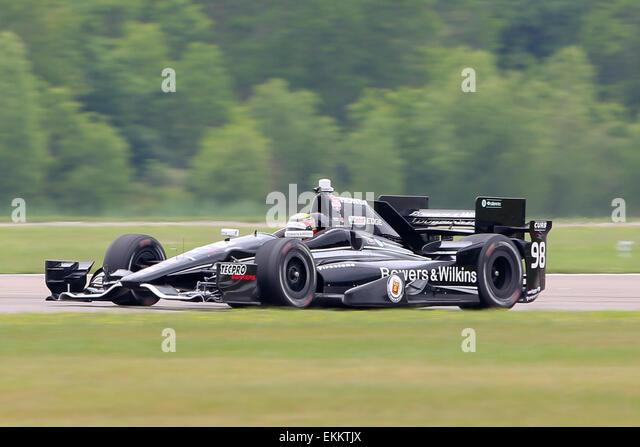 Avondale, LA, USA. 11. April 2015. #98 Gabby Chaves von Bryan Herta Autosport während des Indy Grand Prix von Stockbild