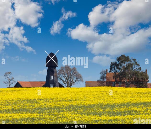 Chislet Windmühle. Stockbild