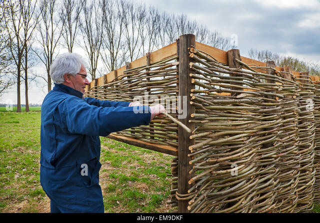 wattle fence stockfotos wattle fence bilder alamy. Black Bedroom Furniture Sets. Home Design Ideas