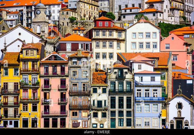 Porto, Portugal Altbauten. Stockbild