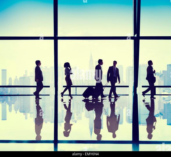 Menschen Unternehmenszentrale Geschäftskonzept Stockbild