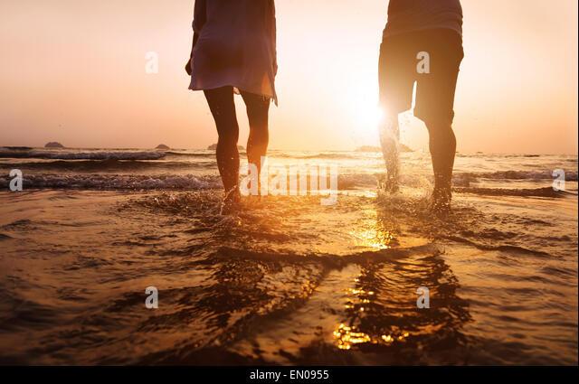 Strandurlaub Stockbild