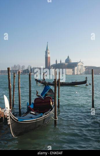 Isola di San Giorgio Maggiore, Venedig, UNESCO World Heritage Site, Veneto, Italien, Europa Stockbild