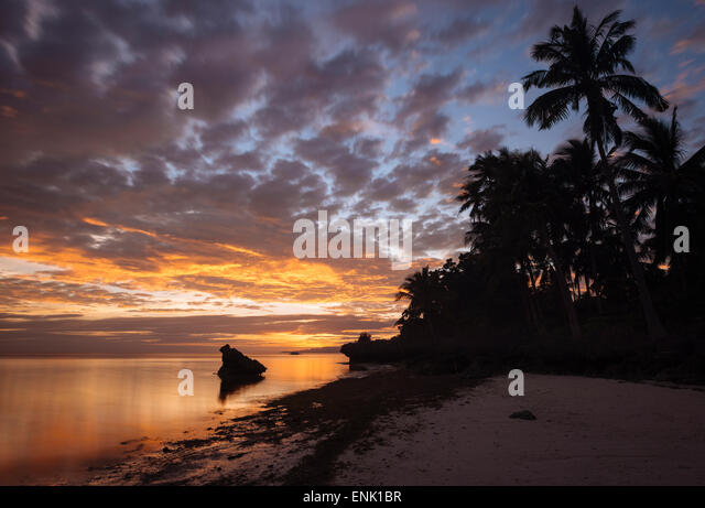 Anda Strand, Insel Bohol, Visayas, Philippinen, Südostasien, Asien Stockbild