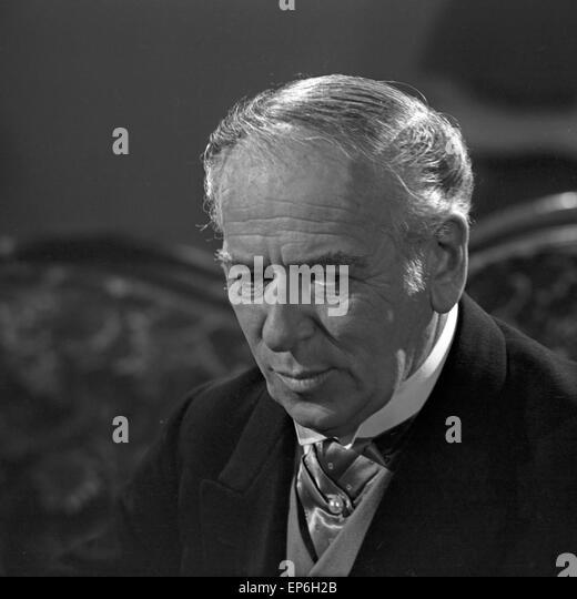 Ein Volksfeind, Deutschland 1965, Fernsehfilm, Regie: Oswald Döpke, Monia: Leopold Biberti Stockbild