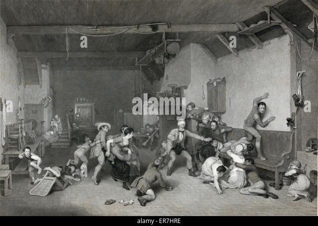 Blind-Mannes Buff. Stockbild