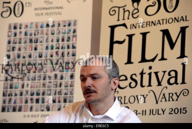Prag, Tschechische Republik. 2. Juni 2015. Karlovy Vary International Film Festival künstlerischer Leiter Karel Stockbild