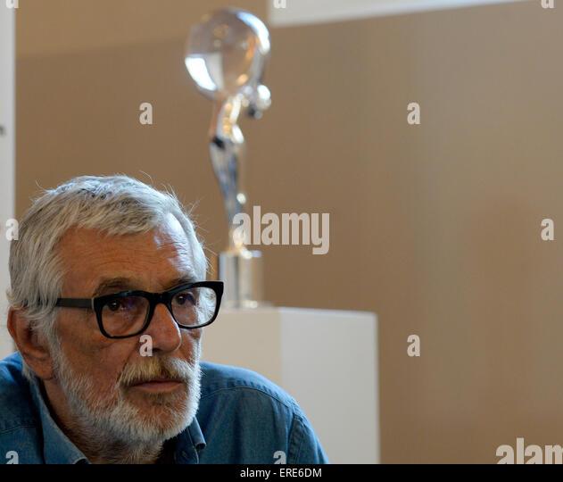 Prag, Tschechische Republik. 2. Juni 2015. Karlovy Vary International Film Festival Präsident Jiri Bartoska Stockbild