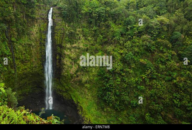 Waterfall Big Island Akaka